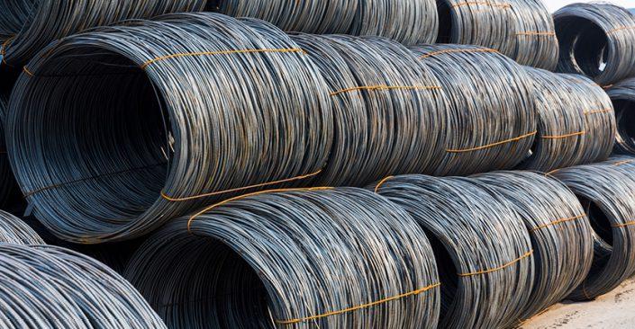 مفتولهای صنعتی و ساختمانی فولاد یزد