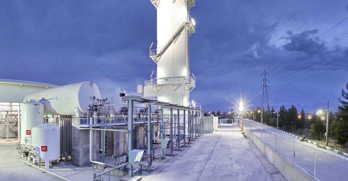 گازهای صنعتی فولاد یزد